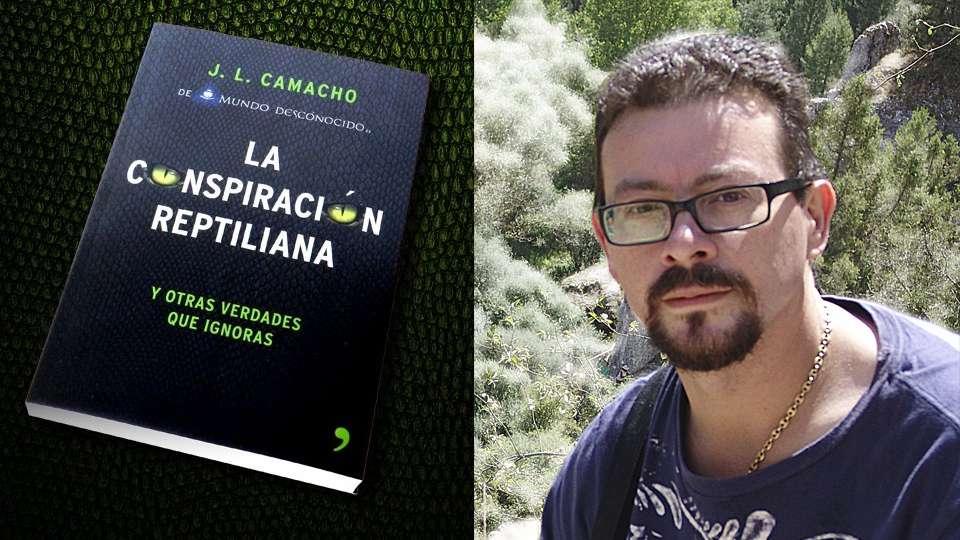 Jose Luis Camacho autor del libro La Conspiración Reptiliana