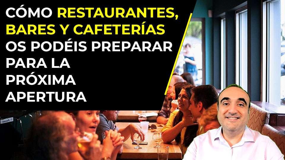 Cómo los bares, cafeterías y restaurantes pueden prepararse