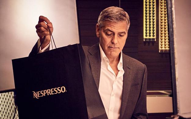 Marcas como Nespresso asocian cierto estatus en sus anuncios